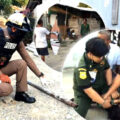 Father murdered by drug addict son while the pair worked together at a Pathum Thani building site