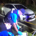 Murder enquiry after the body of a young woman, a Bangkok based BMA civil servant, found sitting in a car