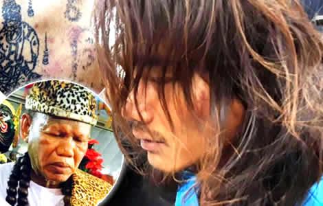 police-shaman-ritual-udon-than-killer