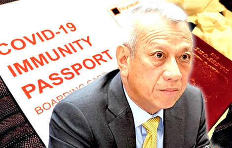 minister-rules-out-entry-for-vaccinated-tourists-passports-review