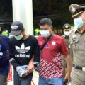 Two arrested for throwing an explosive device at police officers in Bangkok after political rally
