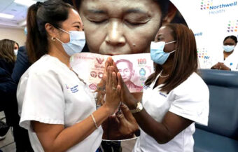 Baht losing against the dollar as vaccination success hopes in the United States grow stronger