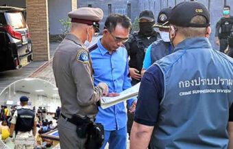Rayong gambling boss is arrested as fact-finding panel finds police and officials acted corruptly