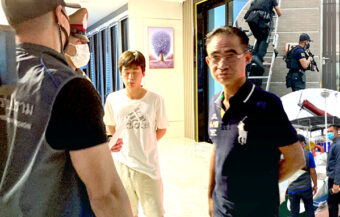 Gambling Godfather arrested in Rayong linked with the murder of a moto-taxi driver in Pattaya