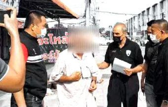 Italian charged with sexual molestation of a 3-year-old girl in a western suburb of Bangkok