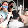 'Penguin' on hunger strike after chaotic court scenes in Bangkok demanding bail for protesters
