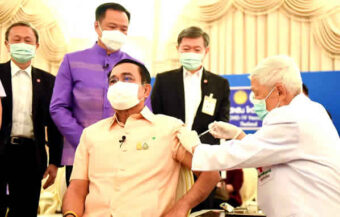 PM leads the way as Thailand aims to return to normal by pushing forward its vaccine drive using AstraZeneca