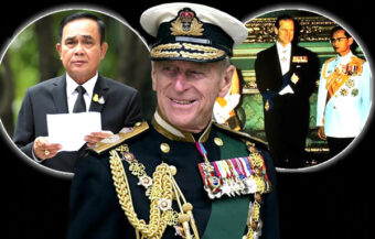 Thai PM sends a message to people of the UK on the death of the Duke of Edinburgh, Prince Philip