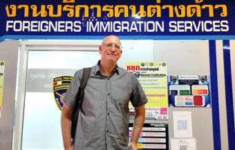 Officials deny long-time resident American professor in Khon Kaen was targeted because of political activities