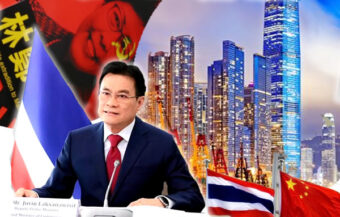Trade pact with Hong Kong as Thailand negotiates both Chinese and new western trade relationships
