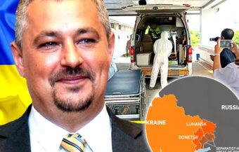 Remains of Ukrainian ambassador to Thailand who died on Ko Lipe on Sunday sent to Bangkok