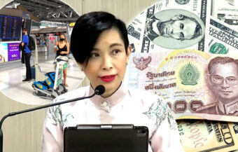 Baht falling with confidence in Thailand waning as foreign tourism closure and virus drive funds out