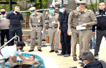 Staff heard 4 to 5 shouts before alarm was raised in Ko Tao island death of billionaire industrialist and his wife