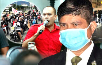 Nattawut may face sedition charges as successful 'big honk' rally later gave way to running clashes