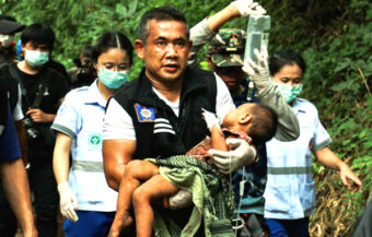 Police probe 'child sacrifice' claim in case of an abducted 23-month-old little girl from a Chiang Mai village