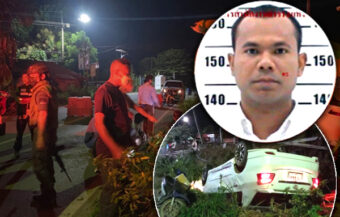 Thai volunteer soldier in Songkhla guns down his wife and mother in law with M16 in a jealous rage