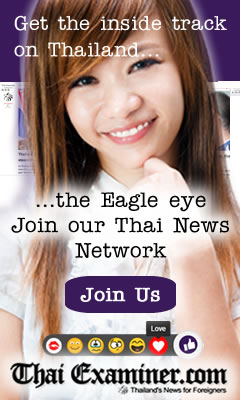 Help us keep an Eagle eye on Thai news - Join the Thai Examiner Social Network