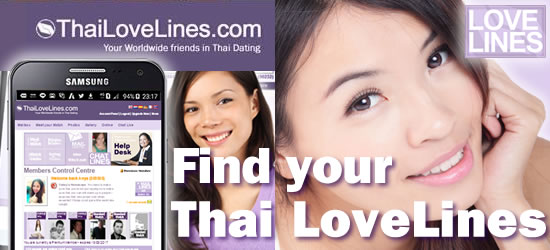 Find your ThaiLoveLines - Thai Love in Thailand